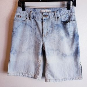 Tommy Hilfiger Bleached Shorts Sz 2